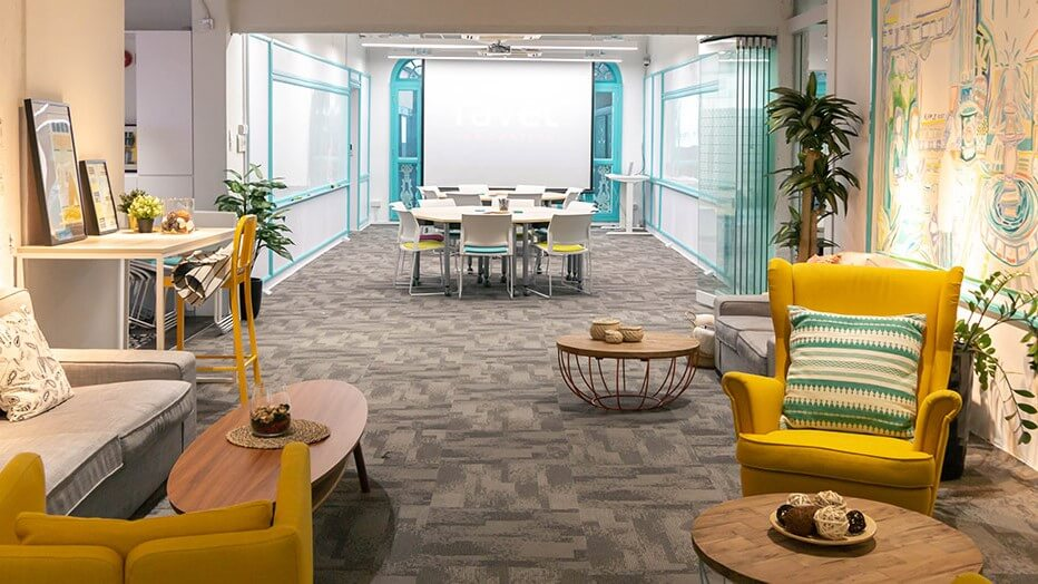 Ravel Innovation: A Chic and Cozy Workspace Downtown